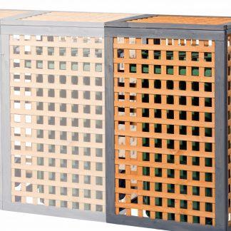 Erweiterungselement zu Holz Mülltonnenbox Kaprun
