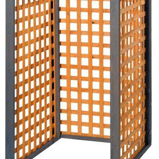 Holz Mülltonnenbox Zell für 1x 240Liter Mülltonnen