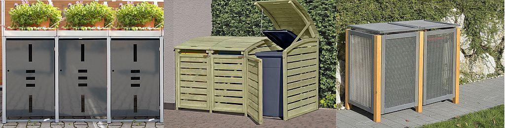 ediGarden Mülltonnenboxen verschiedene Modelle