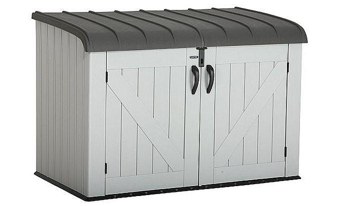 HDPE-Mülltonnenbox von Lifetime