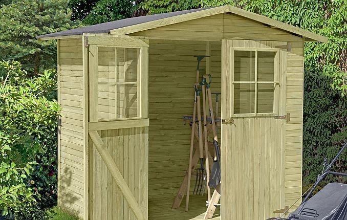 Holz-Gartenhaus/Gerätehaus (14-mm) kdi von ediGarden